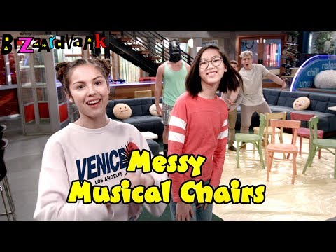 Messy Musical Chairs | Bizaardvark | Disney Channel