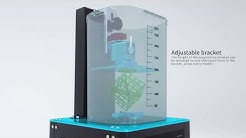 Anycubic All-in-one, Curing and Washing Machine.