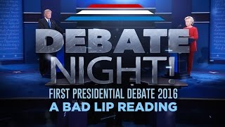 """DEBATE NIGHT!"" - A Bad Lip Reading of the first 2016 Presidential Debate"