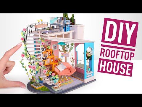Assembling A Miniature Rooftop Loft