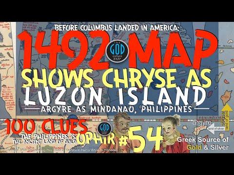 1492 MAP Shows CHRYSE/Ophir As Luzon & ARGYRE/Tarshish A Mindanao. YOU GOTTA SEE THIS! #54