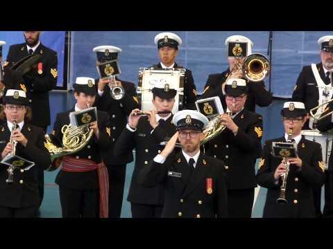 Bicentenario Armada de Chile, Royal Canadian Navy Band, Tattoo 2018 Viña del Mar, Parte 02