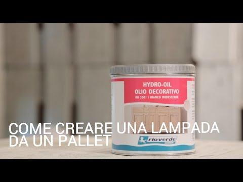 Come creare una lampada da un pallet youtube