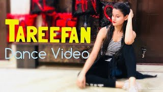 Tareefan Dance Choreography by kanishka for beginners