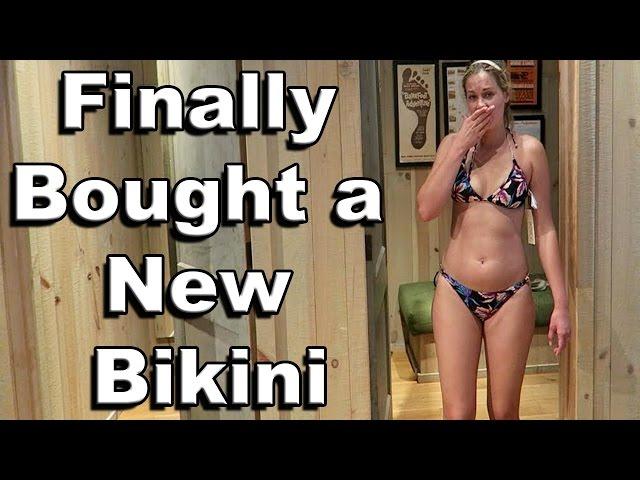 FINALLY BOUGHT A NEW BIKINI!