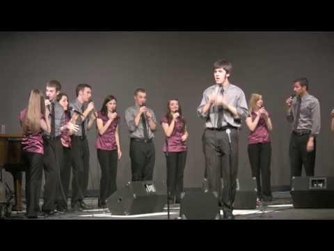 """Mack the Knife"" sung by Framework;  Sprague High School Jazz Ensemble, Andrew Hatzenbihler, soloist"