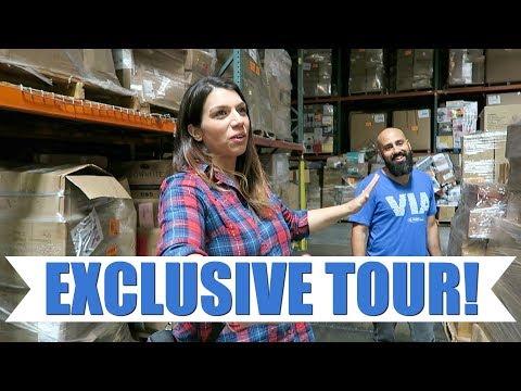 Exposing Liquidation Secrets & Exclusive Warehouse Tour