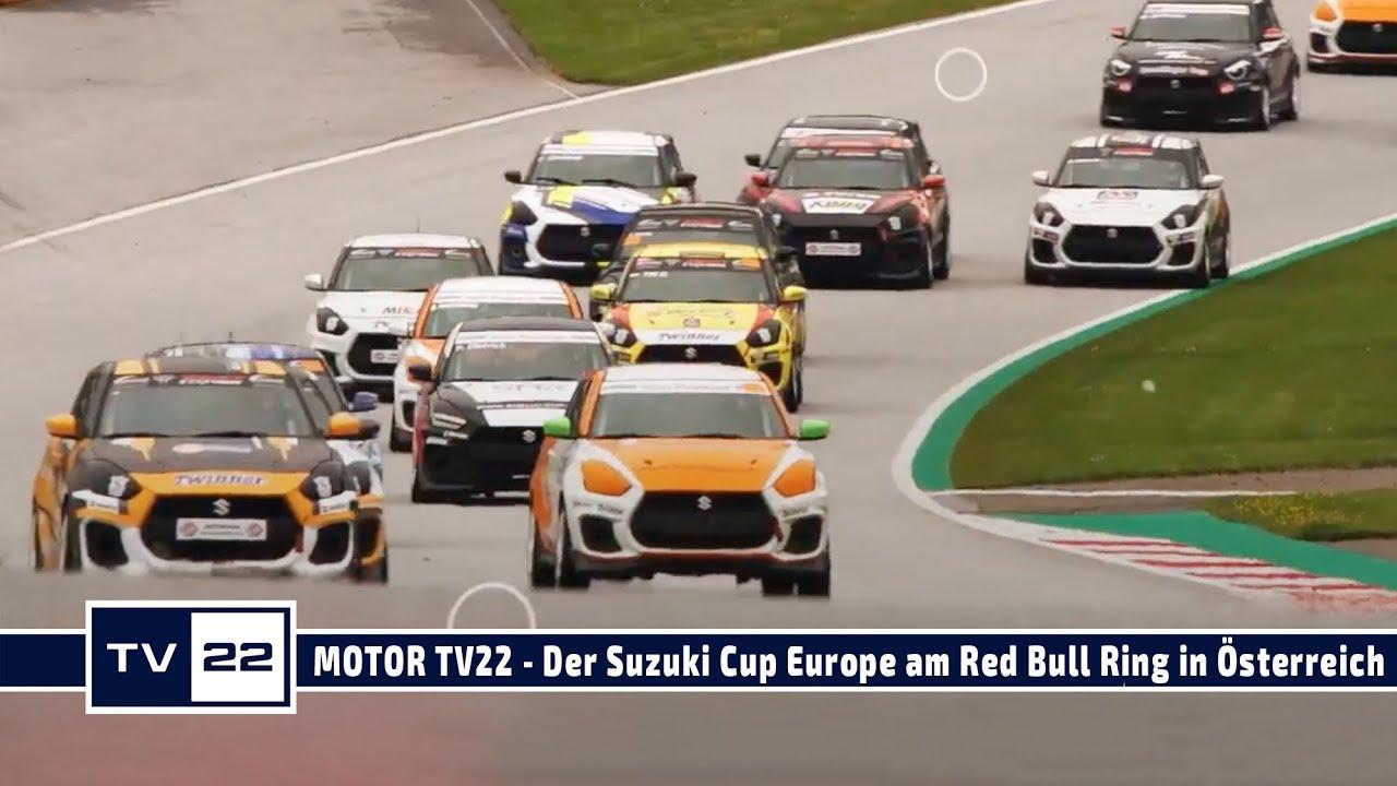 MOTOR TV22: Der Suzuki Cup Europe gibt am Red Bull Ring Gas