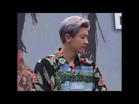 [HD Fancam] 170813 Chanyeol reaction to EXO-L shout ''Yah! Baekhyun'' (EXO @The War Fansign) Mp3