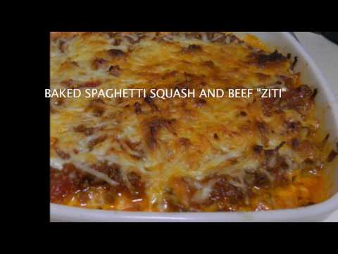 Baked Spaghetti Squash And Beef