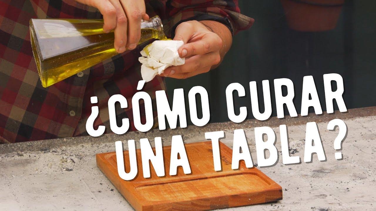Como curar una tabla para el asado el laucha responde for Como hacer una tabla para picar de madera
