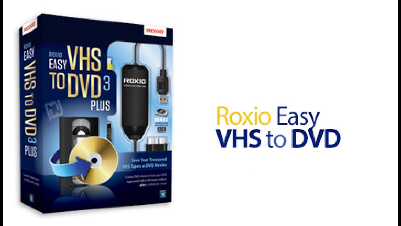 Roxio Easy Vhs To Dvd 3 Plus Review Youtube