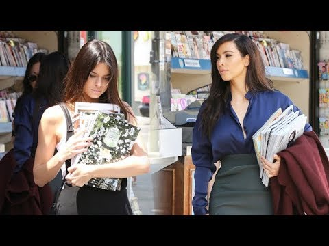 Kim Kardashian And Kendall Jenner Stock Up On Kim