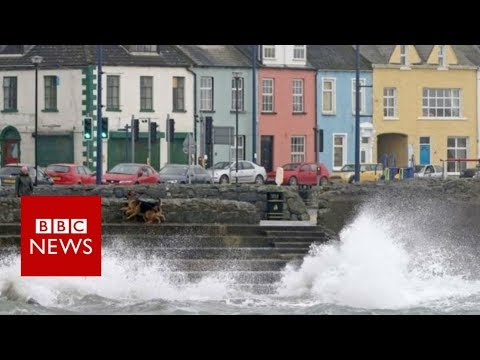 Hurricane Ophelia: Two people die as storm hits Ireland – BBC News