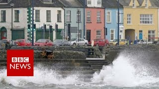 Hurricane Ophelia: Two people die as storm hits Ireland - BBC News