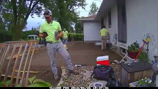 Bluhm Brothers Landscaping South Saint Paul Backyard Patio, and Full Grade and Sod Installation, MN