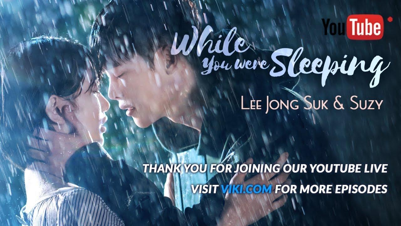 while you were sleeping (จากต้นฉบับเกาหลี ep 1,2 )ความฝันของฮงจูมักเป็นเรื่องจริงเสมอ เธอฝันว่าได้กอดผู้ชายคนหนึ่งซึ่งไม่เคยรู้จักกันมาก่อน และรู้สึกตกใจมากกับการ .