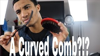 Brush Review: Elite Wolfing Tool Curved Comb And Brush!!!