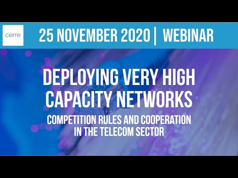 Deploying very high capacity networks: competition rules and cooperation in the telecom sector