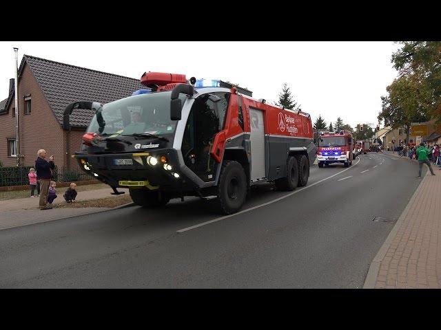 [130 Fahrzeuge zum 112 Jährigen!] Großer Festumzug FF Germendorf