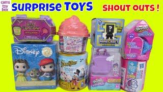 Unboxing Surprise Toys NUM NOMS SHOPKINS DISNEY My Little Pony Kids Toy Opening