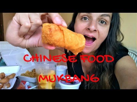 CHINESE FOOD TAKEOUT | EGG FOO YOUNG MUKBANG