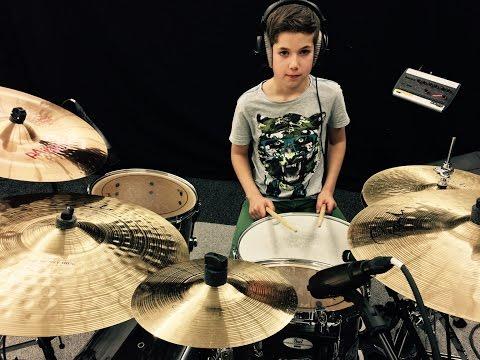 Martin Garrix - Animals, drum cover by darius HD