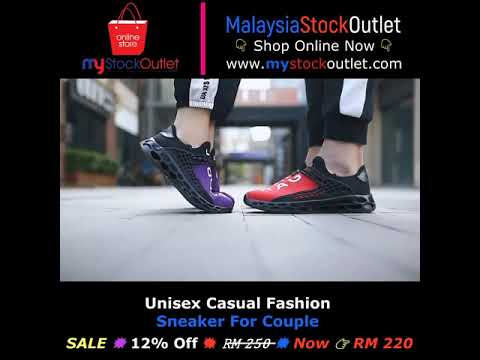 Unisex Casual Fashion Sneaker For Couple