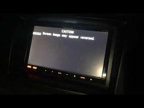 แก้ปัญหา Pioneer AVH ขึ้นหน้าจอ Caution Screen Image May Appear Reversed