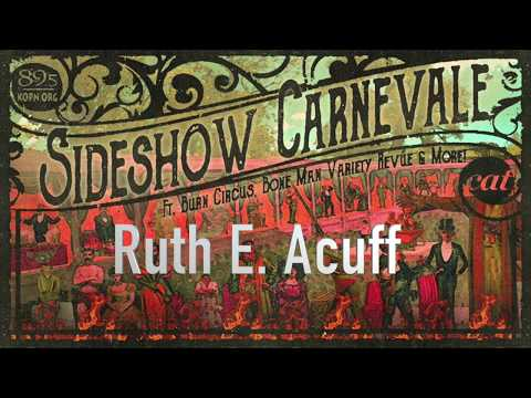 Ruth E. Acuff With Painter