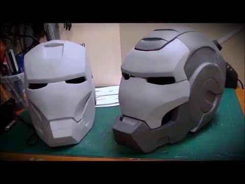 WAR MACHINE Movie Costume - IRON MAN 2 - Complete Build Vlog (Compact Version)