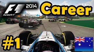 f1 2014 career mode part 1 australian grand prix legend ai