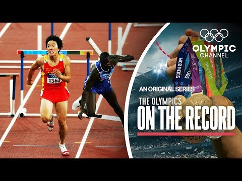 Hurdler Liu Xiang's Historic Gold Display in Athens 2004 | Olympics on the Record