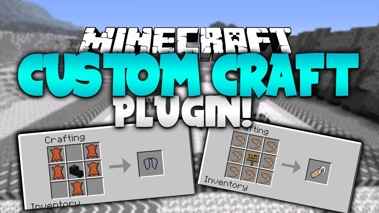 custom items plugin 1.8