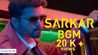 SARKAR vijay intro bgm HD