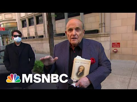 'Deep sh**': Giuliani Criminal Raid Has Trump Worried | The Beat With Ari Melber | MSNBC