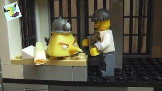 ПОЛИЦЕЙСКИЙ УЧАСТОК Lego CITY 60141 I БАНДИТЫ СБЕЖАЛИ ИЗ ТЮРЬМЫ I POLICE STATION