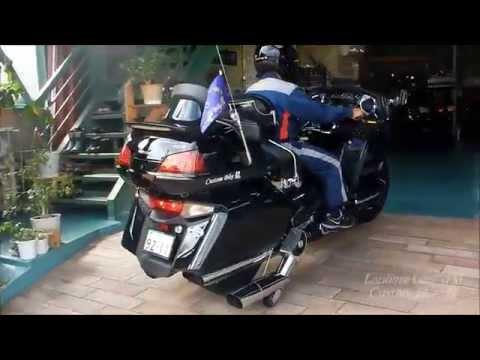 Custom Bike \u9f8d Landing Gear TM HONDA GoldWing GL1800  YouTube