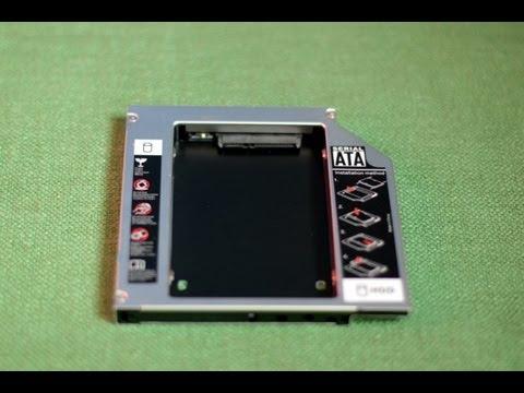 Замена DVD привода на дополнительный SSD/HDD на ноутбуке