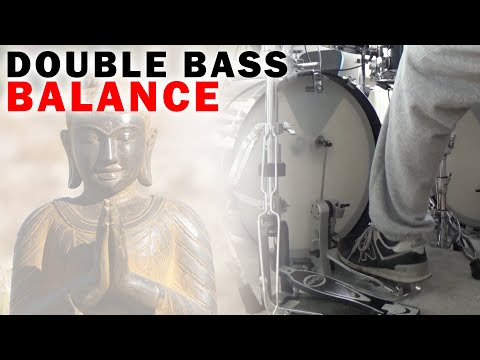 The 3 BEST Double Bass Balance Exercises To Start With | Bass Drum Technique Tutorial