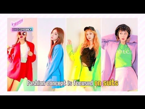[KBS World Idol Show K-RUSH 2017.04.28] Ep.8 : EXID is back with a new song!