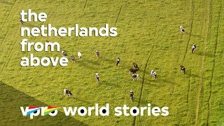 Dutch free range farming - The Netherlands from above thumbnail