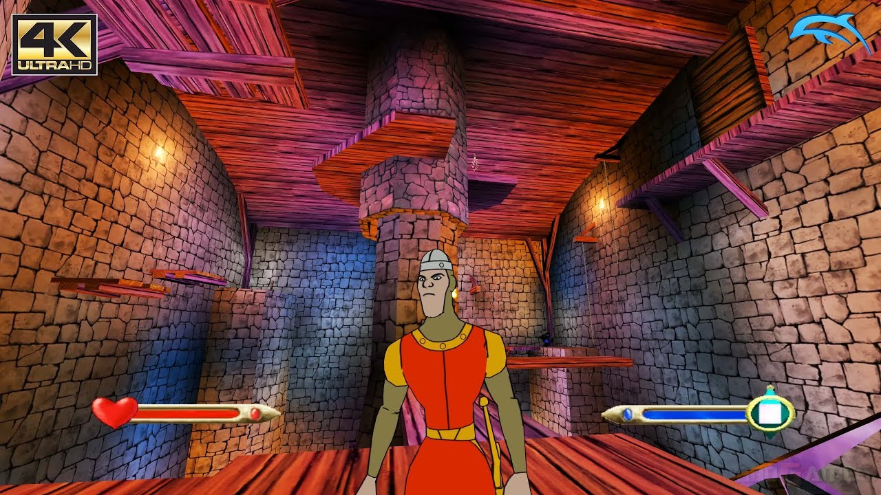 Dragon's Lair 3D: Return to the Lair - Gamecube Gameplay 4K 2160p ...
