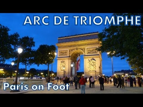 Paris on Foot #4: Arc de Triomphe