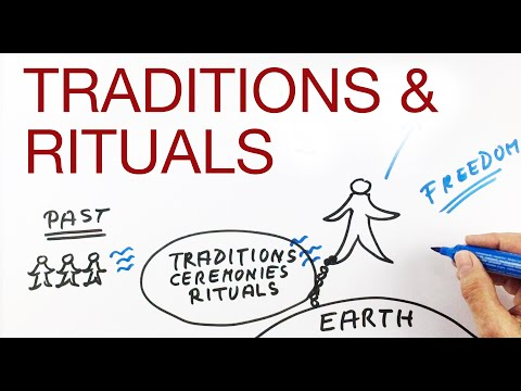 TRADITIONS & RITUALS explained by Hans Wilhelm