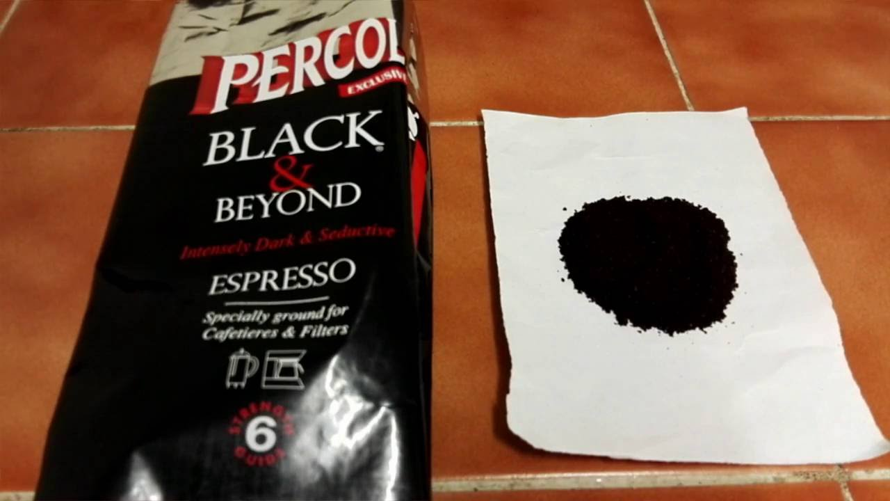 Percol Black Beyond Espresso Ground Coffee Review