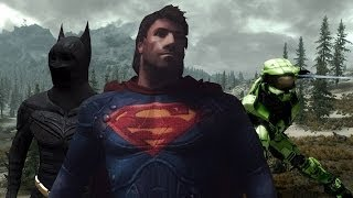 Top 5 Superhero Mods In Skyrim