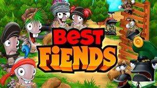 Best Fiends война Букашек против Слизней Прохождение #1 (уровни 1-10) Игровое Видео Let's Play