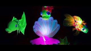 Neon Show - BRISAS GUARDALAVACA, Holguin, Cuba - Неоновое шоу - БРИЗАС ГУАРДАЛАВАКА, Ольгин, Куба
