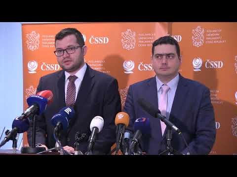 Záznam tiskové konference: ČSSD nepodpoří návrh ODS na zrušení zákazu prodeje o 7 státních svátcích